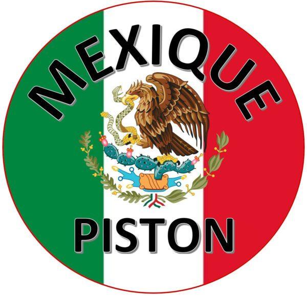 LOGO MEXIQUE PISTON