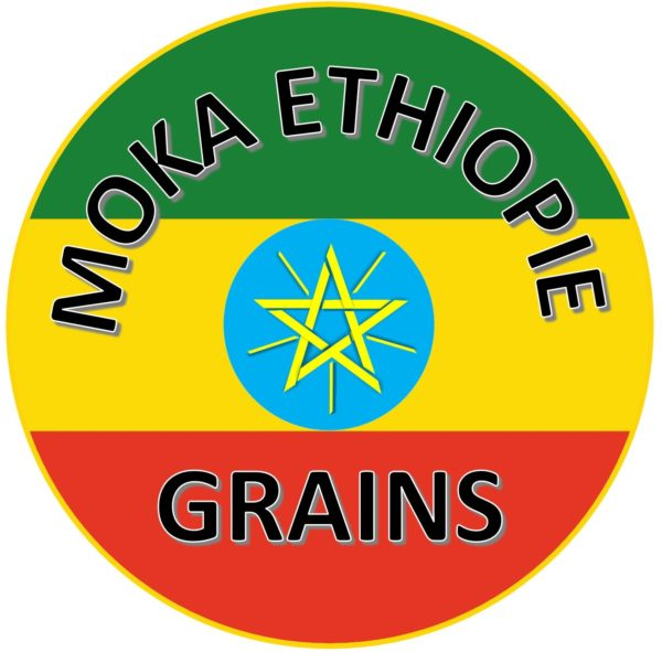 LOGO CAFÉ Moka d'Ethiopie Grains