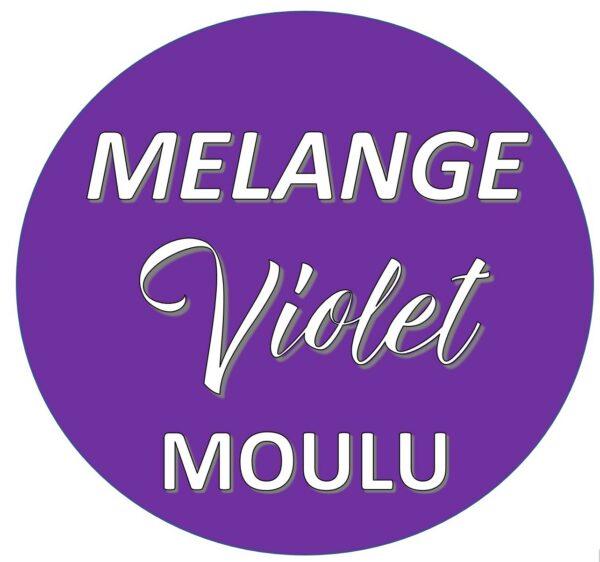 LOGO MÉLANGE VIOLET MOULU