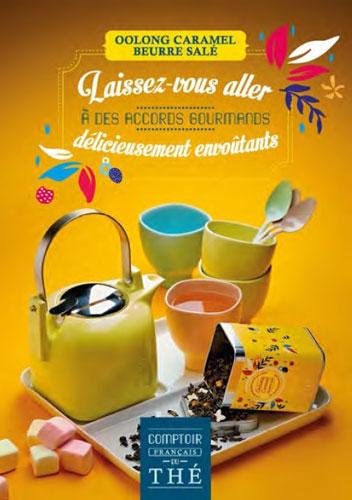 affiche OOLONG Thé Caramel Beurre Salé