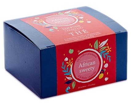 Boite de 20 sachets de ROOIBOS Thé African Sweety