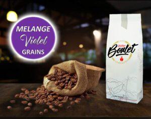 Mélange Violet Grains