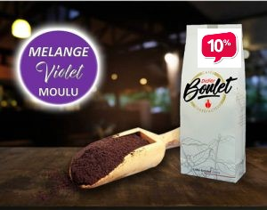 Mélange Violet Moulu