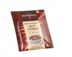 Dosettes chocolat en poudre lacté 4 étoiles 30 g par 10