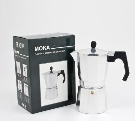 CAFETIÈRE MOKA ALU 4 TASSES