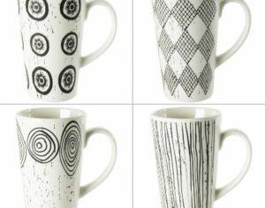 Coffret 4 mugs Palawan