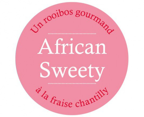 Étiquette ROOIBOS Thé African Sweety