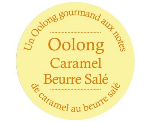 Étiquette OOLONG Thé Caramel Beurre Salé