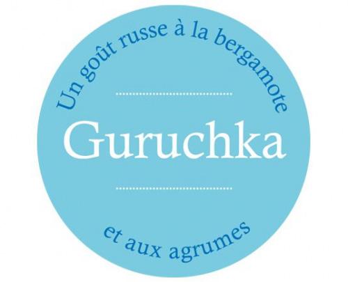 Étiquette Thé Noir GURUCHKA