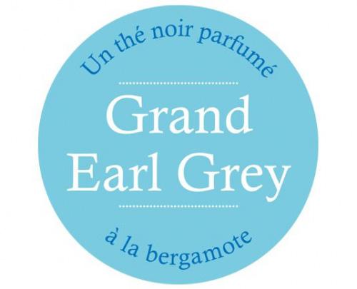 Étiquette Thé Noir Grand Earl Grey
