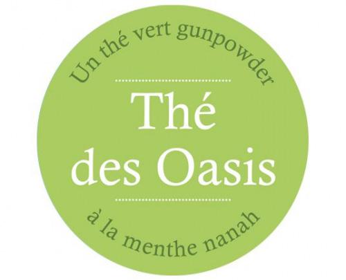 Étiquette Thé vert Oasis