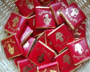 Sachet de 20 carrés de chocolat au Lait Céréales