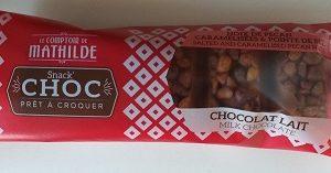 SNACK CHOC – Chocolat au Lait Noix de Pécan 40g