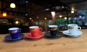Tasse Café Didier Boulet Bleue 9 cl