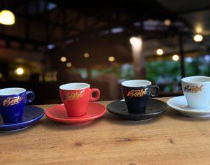 Tasse Café Didier Boulet Blanche 9 cl