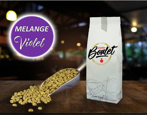 Mélange Violet Non Torréfié