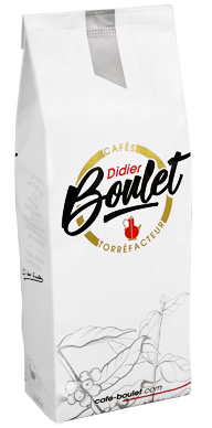 un paquet de Café en grains Didier boulet torréfacteur 2021 Click and collect disponible