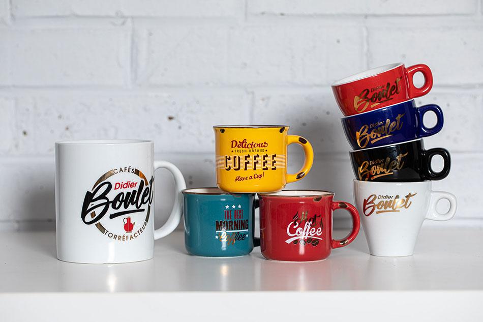 Vaisselles de Cafés Didier Boulet
