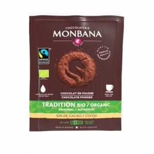 Dosettes Chocolat Bio Monbana 10x15g