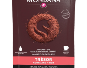 Dosettes Chocolat Trésor Monbana 10x25g