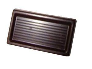 carton de 500 carrés de chocolat noir