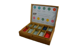 Coffret Bambou d'infusions
