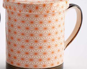 Tisanière ENTO orange