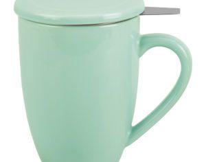 Tisanière 0.5L vert d'eau
