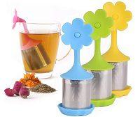 Infuseur à thé Fleur maille fine