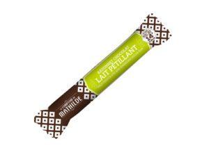 Bâtonnet chocolat lait sucre pétillant 14g