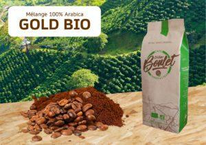café mélange 100% Arabica Gold Bio