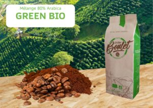 café mélange 80% Arabica Green Bio