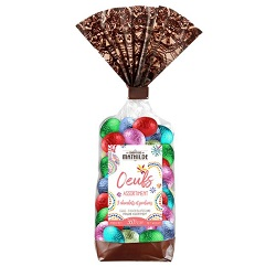 Oeufs – assortiment 3 chocolats et pralinés