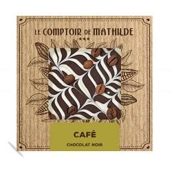 Tablette Chocolat Noir Café Crème