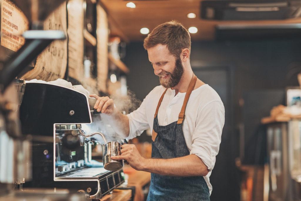restaurateur machine café